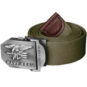 Helikon Navy Seal Bälte Polyester - Olivgrön