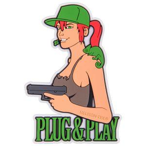Helikon Plug & Play Märke - Brun