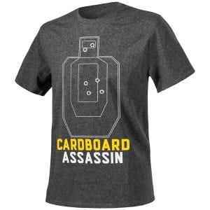 Helikon Cardboard Assassin T-shirt - Melange Black-Grey