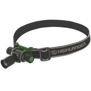 Highlander Focus 3W LED Pannlampa - Svart/Oliv
