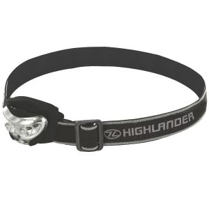 Highlander Vision 2+1 LED Pannlampa - Svart