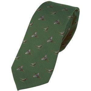 Jack Pyke Silk Tie Pheasant Green