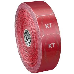 KT Tape Jumbo Pro Precut Kinesiotejp Syntetisk - Rage Red