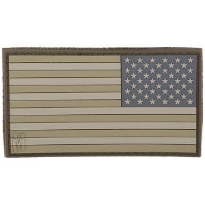 Maxpedition Reverse USA Flag Stort Moralmärke - Arid