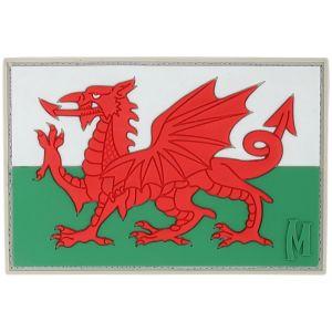 Maxpedition Welsh Flag Moralmärke - Fullfärg
