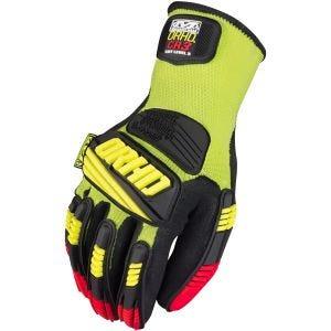 Mechanix Wear The Safety M-Pact ORHD Knit CR3 Handskar - Hi-Viz Yellow