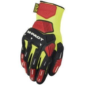 Mechanix Wear The Safety M-Pact Knit CR3A3 Handskar - Hi-Viz Yellow