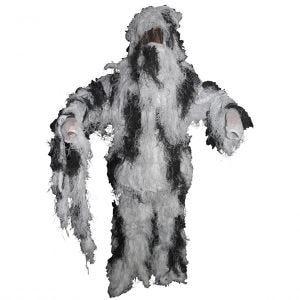MFH Camouflage Ghilliedräkt - Snow