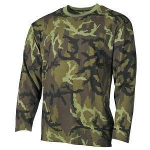 MFH Långärmad T-shirt - Czech Woodland