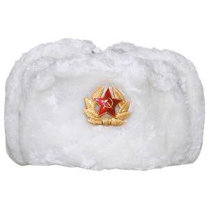 MFH Russian Vintermössa med Bricka - Vit