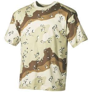 MFH T-shirt - 6-Colour Desert