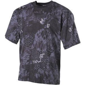 MFH T-shirt - Snake Black