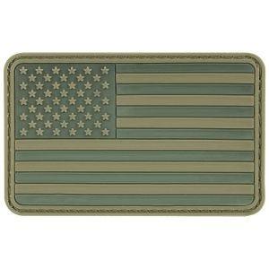 MFH USA 3D Flaggemblem Kardborreband - Oliv