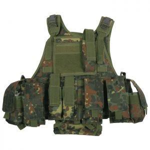 MFH Ranger MOLLE Taktisk Väst - Flecktarn
