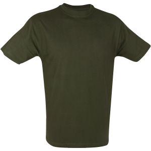 Mil-Com T-shirt - Olivgrön