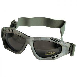 Mil-Tec Commando Goggles Air Pro Smoke AT-Digital   DISC