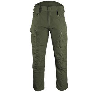Mil-Tec Assault Softshellbyxor - Ranger Green