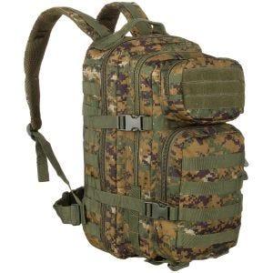 Mil-Tec MOLLE US Liten Attackpack - Digital Woodland