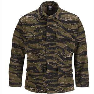 Propper BDU Uniformsrock Poly-bomull Ripstop Asian Tiger Stripe