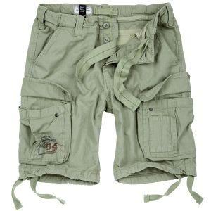 Surplus Airborne Vintage Shorts Ljus olivfärgad