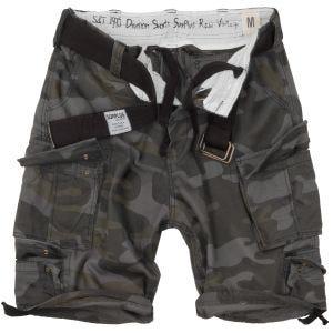 Surplus Division Shorts - Black Camo