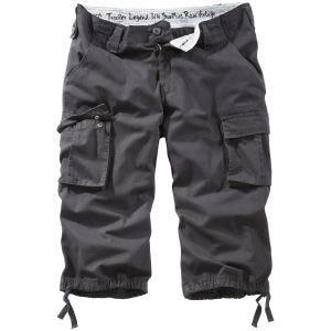 Surplus Trooper Legend 3/4 Shorts - Svart Tvättad
