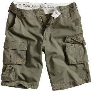 Surplus Trooper Shorts - Oliv Tvättad