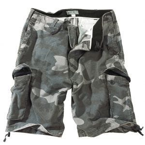 Surplus Vintage Shorts - Tvättad Night Camo