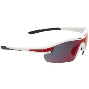 Swiss Eye Sunglasses Novena Frame White Matt/Red