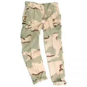 Teesar BDU Trousers Ripstop Prewashed 3-Desert