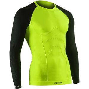 Tervel Comfortline Långärmad Skjorta - Yellow Fluo/Svart