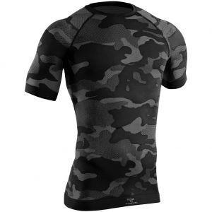 Tervel Optiline Light Tactical Kortärmad Skjorta - Svart/Grå