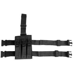 Viper MP5 Magasinficka för Ben - Svart