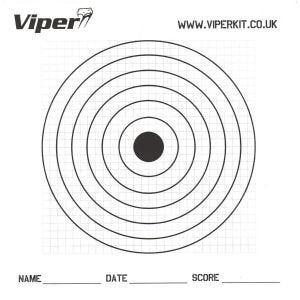 Viper Pro Pappersmål 17 cm 100-pack